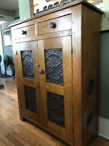 Amish Mission Style Antique Pie Safe
