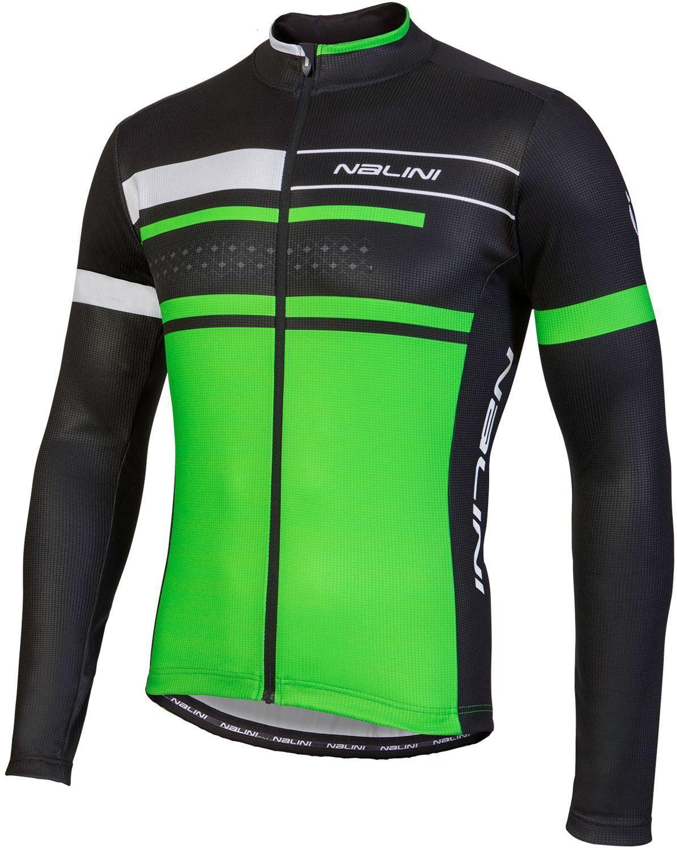NALINI Pro fatica Jersey LS Radtrikot Long Sleeve vert (  79,90 EUR)