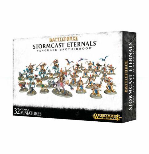 Warhammer Age of Sigmar Battleforce Stormcast Eternals Vanguard Brotherhood
