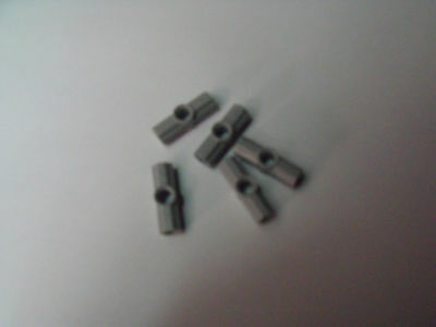 10µµ Lego Cross Angles 0 lot de 5 pieces noir