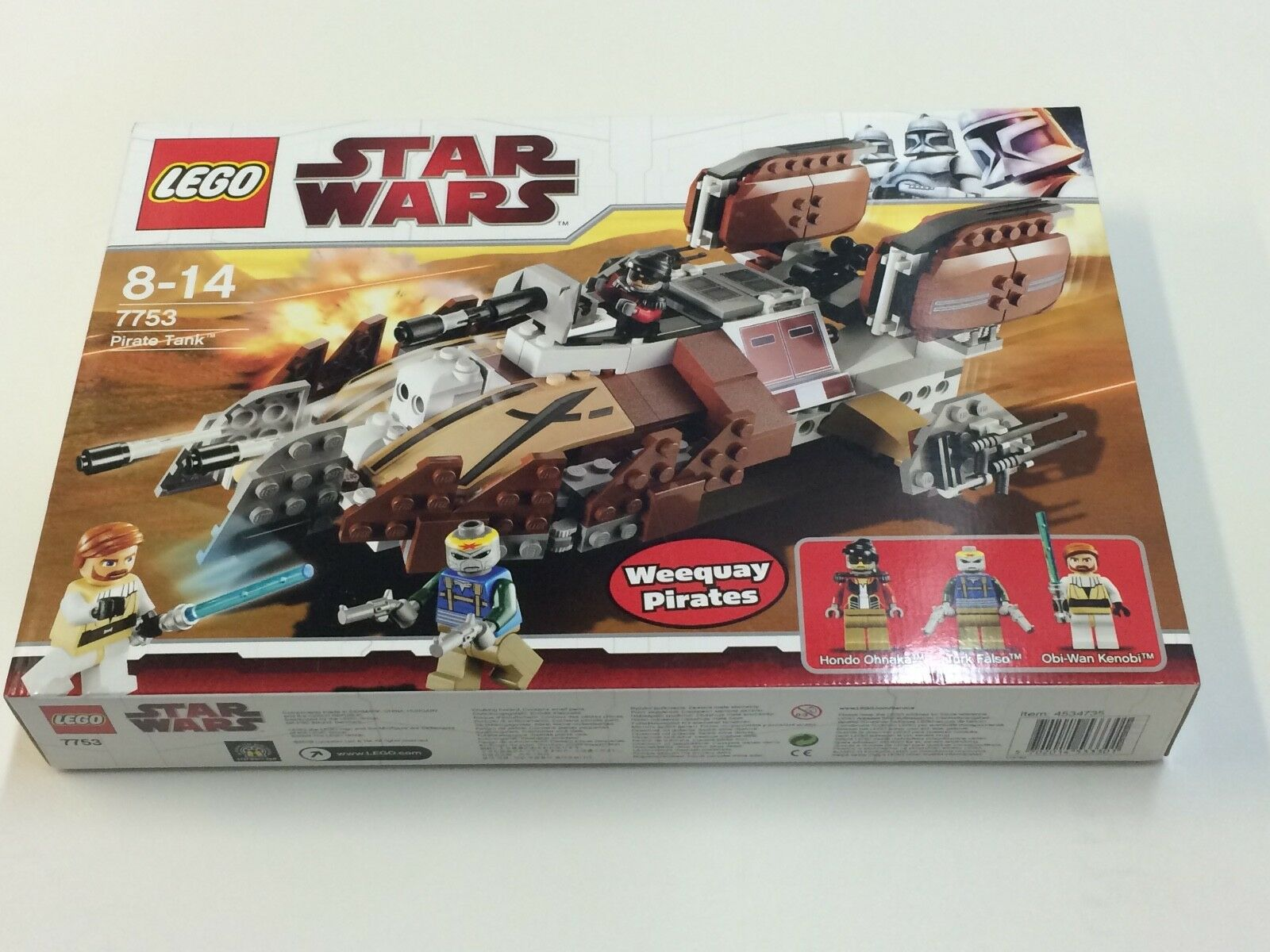 New Sealed LEGO Star Wars 7753 -  Pirate Tank Discontinued