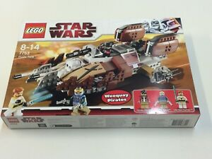 Nouveau Sealed Lego Star Wars 7753 - Tank Pirate Discontinued