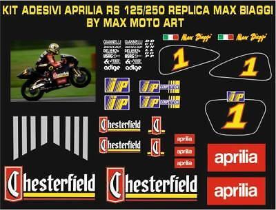kit adesivi stickers compatibili  rs4 125 alitalia max biaggi