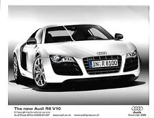 "PAIR OF AUDI R8 V10  PRESS PHOTO ""BROCHURE RELATED"" DECEMBER 2008"