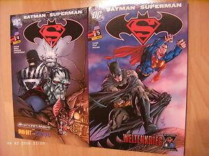 Panini-Comics-Batman-Superman-Sonderband-5-Der-grosse-Knall-rechts-ungelesen