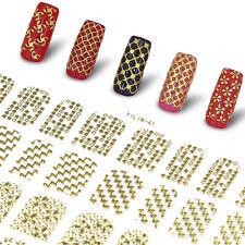 Perfect Summer Brand 108pcs Nail Decals 3D Stickers Designs DIY Gel Polish 041