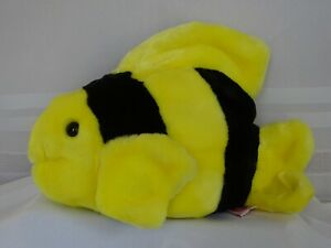 TY BUBBLES the FISH BEANIE BUDDY MINT with MINT TAGS