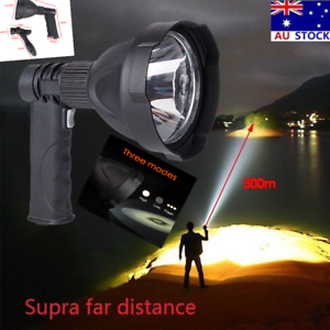 LED-Handheld-Camping-Spotlight-Rechargeable-Hunting-Torch-Fishing-Spot-Light-AU