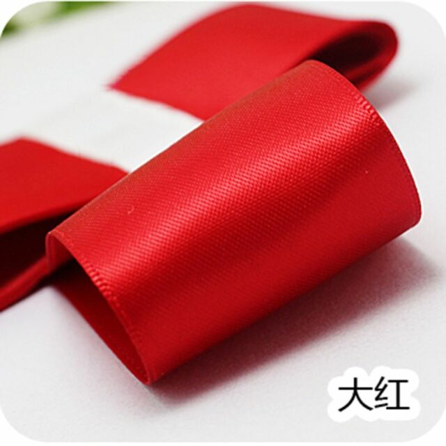 """25 Yards A Role Chic Good Quality  Satin Ribbon 3/8"""" 5/8"""" For Handicraft New"""