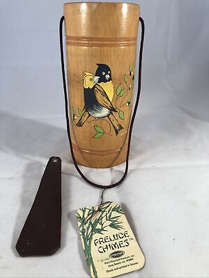 1982 Paul Marshall Enclosed Parrot Wind Chime
