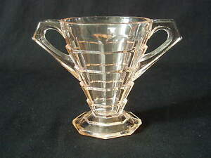 Mini Open SUGAR BOWL TEA ROOM PINK Indiana Glass dépression ART DECO EUC-afficher le titre d`origine 9pi7PboM-09092152-284840475