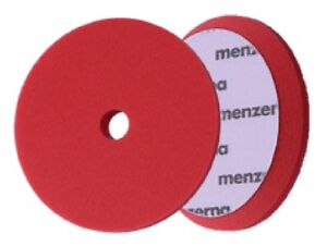 "1 X Menzerna Foam Pad Heavy Cut - Diam 150 Mm / 6"" - Rouge Correspondant En Couleur"