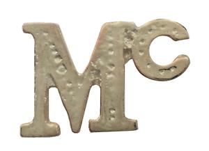 Mc Surname Prefix Nickel-Plated For Orange Order Collarette