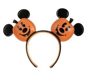 Disney Ear Headband - Halloween 2020 - Mickey Mouse Jack-O-Lantern