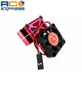 Hot-Racing-Clip-On-Two-Piece-Motor-Heat-Sink-W-Fan-Red-MH550TE02