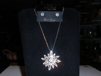 Park Lane Jewelry, solara Necklace & sparkling Earrings Cz's & Crystals,