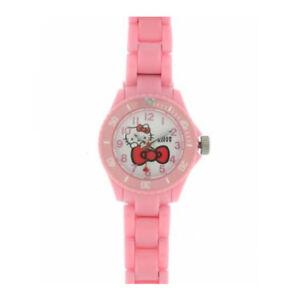 Hello-Kitty-Montre-pour-enfants-4400602-Analogue-plastique-rose