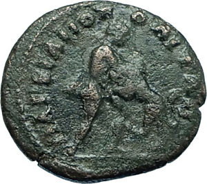 JULIA-DOMNA-193AD-Ancient-Roman-Coin-HERCULES-vs-Nemean-LEO-Zodiac-Lion-i66141