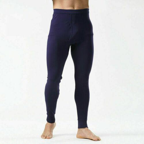 Herren Thermo Lange Unterhose Innere Hose Warm Unterwäsche Baumwolle Unten