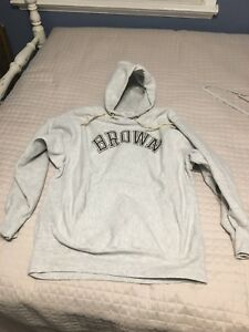 2647394b75e3 Vintage USA 80 s Brown University Champion Reverse Weave Hoodie Size ...