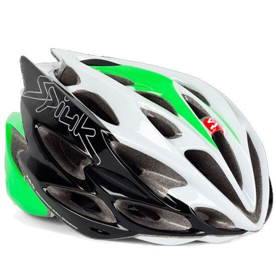 Casco Spiuk Nexion 2 - Bianco black green - [53-61] (M L)...