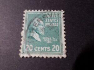ETATS UNIS, USA, 1938 timbre CLASSIQUE 390, PRESIDENTS, oblitéré, VF used STAMPS