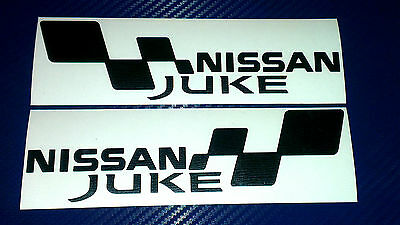 2x NISSAN JUKE FLAG Set Car/Van/Window JDM VW VAG EURO Vinyl Decal Sticker