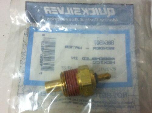 "OEM MerCruiser 3//8/"" Water Temp//Temperature Sender Sending Unit 806490T OMC Volvo"