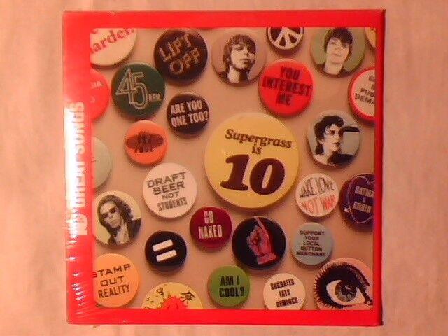 SUPERGRASS 10 great songs cd SIGILLATO SEALED!!!