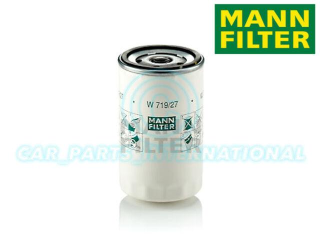 Mann Hummel Repuesto de Calidad OE Filtro de Aceite Del Motor W 719/27