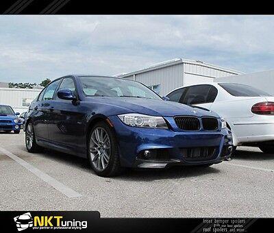 BMW E90 / E91 facelift ( 2009 - 2012 ) - Front lip splitter Msport flaps