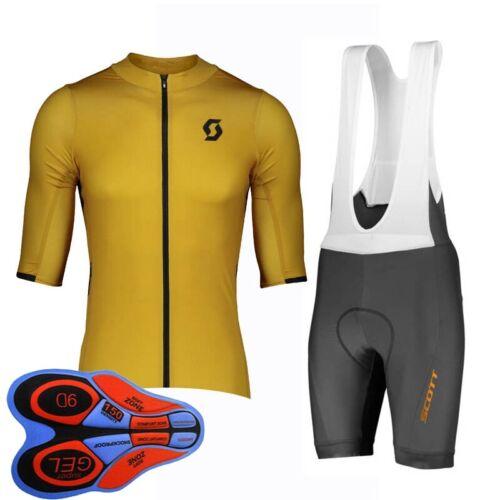 2020 men cycling Jersey bib shorts set Summer team bike Outfits bicycle clothing