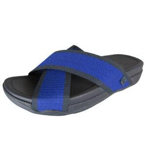 FitFlop Mens Surfer Slide Open Toe Sandal Shoes