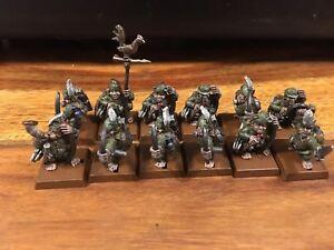 Chiens de guerre Lumpin Croops Halfling Archers X12 Regiment Renommé Warhammer Oop