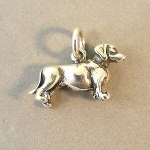 Nouveau Argent Sterling Massif Beagle Dog CHARM ou PENDENTIF