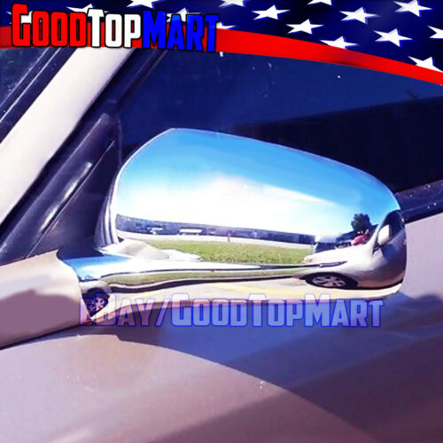 For Chevy IMPALA 2002 2003 2004 2005 Chrome Cover Mirrors+4 Doors Handle Keyhole