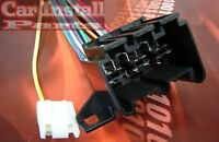 Chevy Radio Wire Harness Install Stereo Plug 1973-up