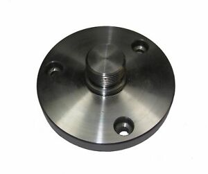 100MM ROTARY TABLE BACKPLATE WITH 2MT SPIGOT WITH stumpy 2 morse table on Back