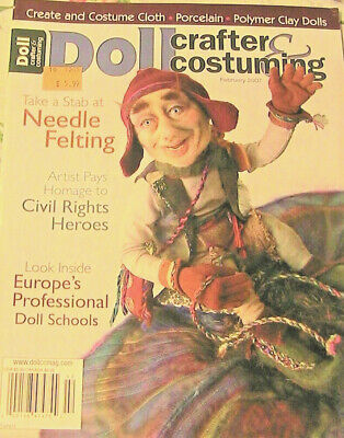 DOLL CRAFTER /& COSTUMING May 2007 Create~Costume cloth~porce~polymer clay dolls