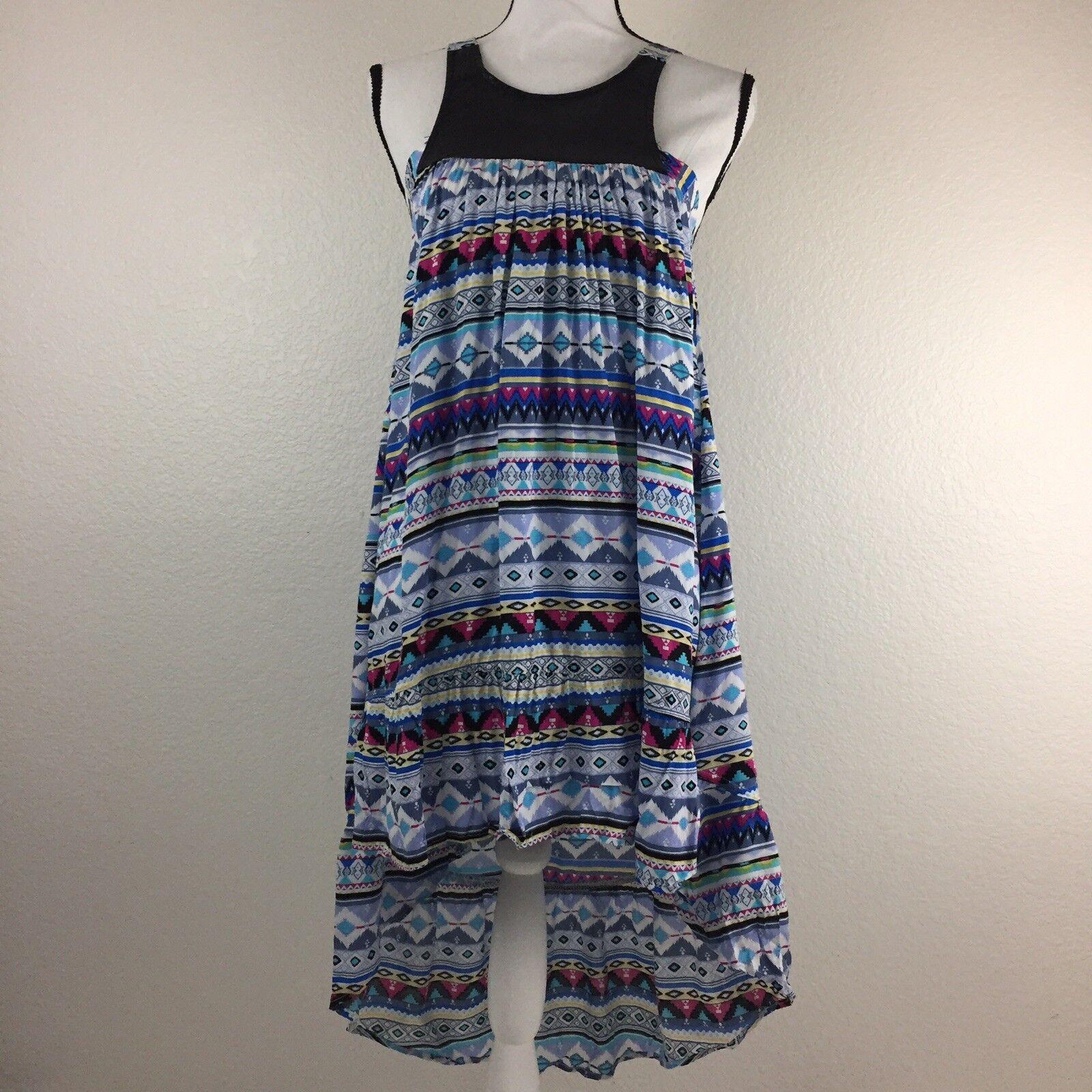 Lf Paper Heart Womens Size 8 High Low Sleeveless Dress. Z1