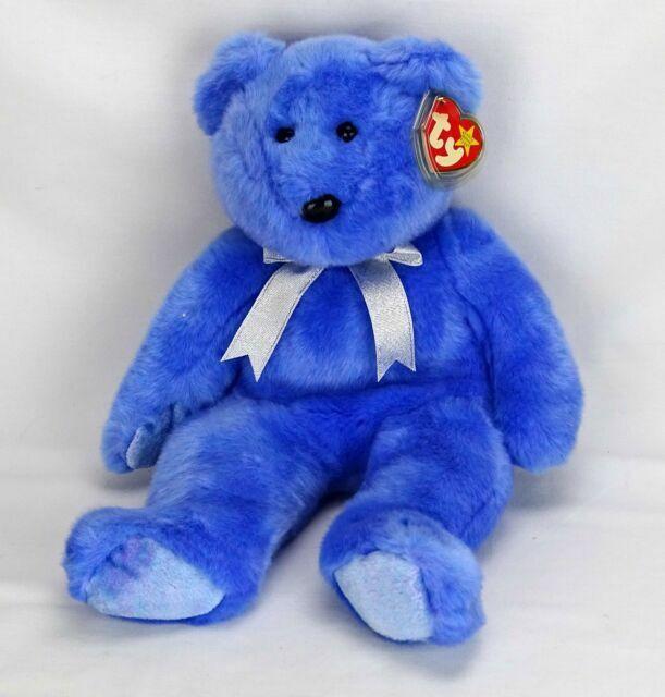 Ty Beanie Baby Clubby II Teddy Bär Bear