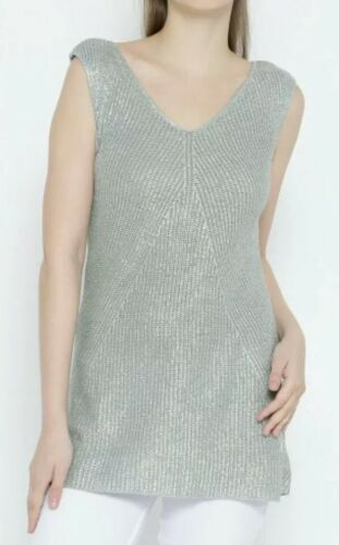 10 Silver Colors Benetton Size United 8 Of Top Knitted Small IBwWzq