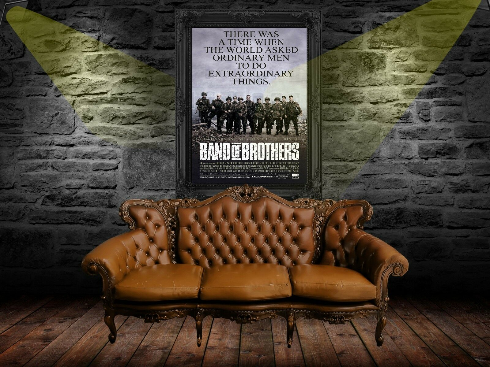 Band of Brothers 2001 Movie Poster Print A0-A1-A2-A3-A4-A5-A6-MAXI 996 Kunstplakate