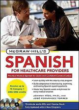 McGraw-Hill's Spanish for Healthcare Providers, Second Edition (McGraw-Hill's ..