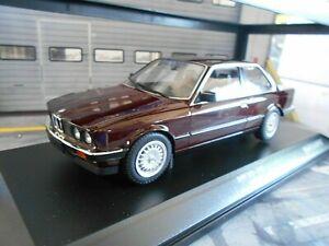 BMW-3er-3-Il-Series-323i-e30-Limousine-Dark-Red-R-1982-Minichamps-1-18-Miniature