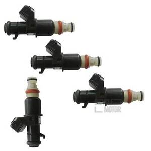 4 X Fuel Injector 16450RBB003 16450RAAA01 Fit 2006-2011 HONDA CR-V