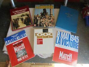 39-45-Le-debarquement-en-Normandie-D-Day-la-Liberation-de-Paris-de-la-France-WW2