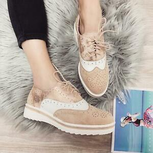 Scarpe-Donna-Derby-Stringate-Polacchine-Sneakers-Eco-Pelle