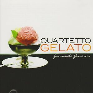QUARTETTO-GELATO-Favourite-Flavours-CD-CANADA-2005-New-Classical-GYPSY-FOLK