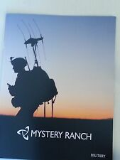 Mystery Ranch Military Tactical Gear 2015 Catalog / SEAL DEVGRU NSW SOF / 20 Pgs